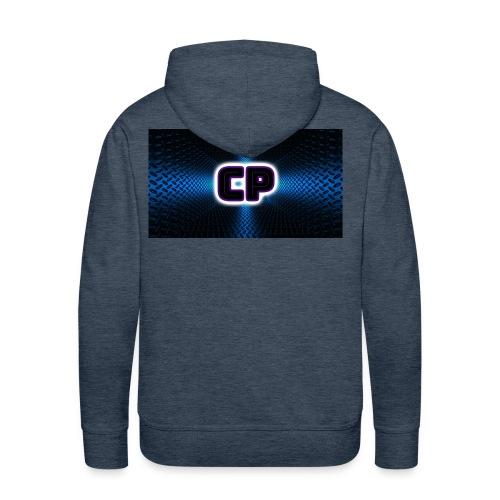 logo club pingvin - Premium hettegenser for menn