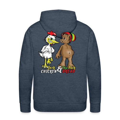Jerk chickenPork Dread - Men's Premium Hoodie