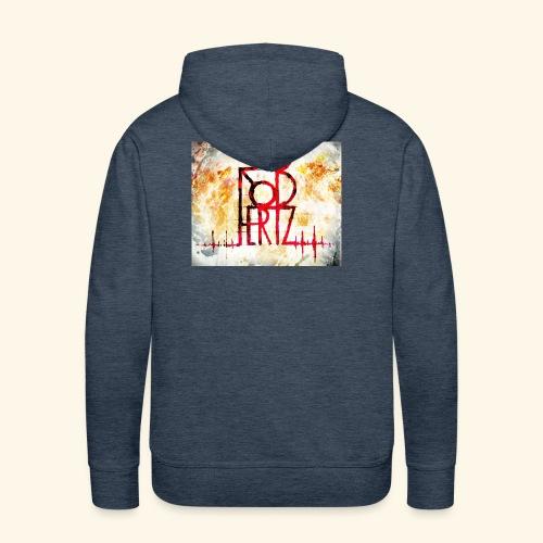RoBhertz Design - Sweat-shirt à capuche Premium pour hommes