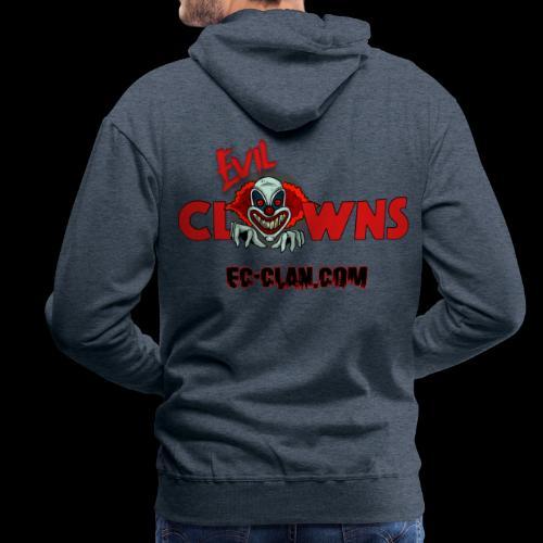 EvilClownsClan black red kontur red - Männer Premium Hoodie
