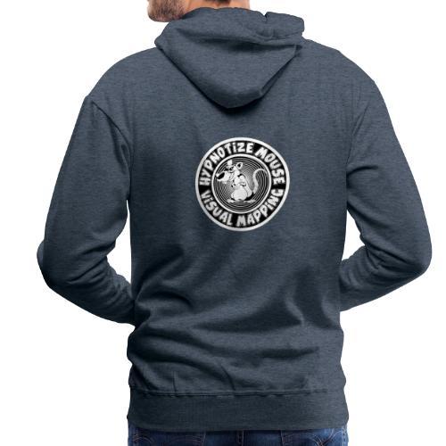 hypnotize mouse - Sweat-shirt à capuche Premium pour hommes