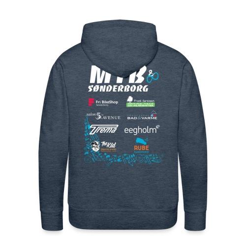 MTB Sønderborg Sponsortryk - Herre Premium hættetrøje