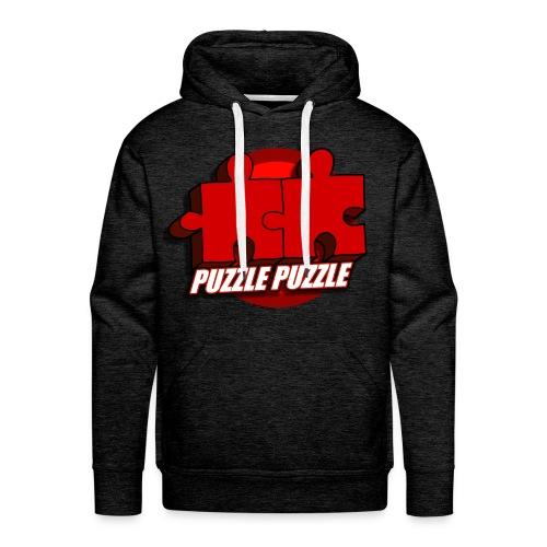 PuzzlePuzzle - Felpa con cappuccio premium da uomo