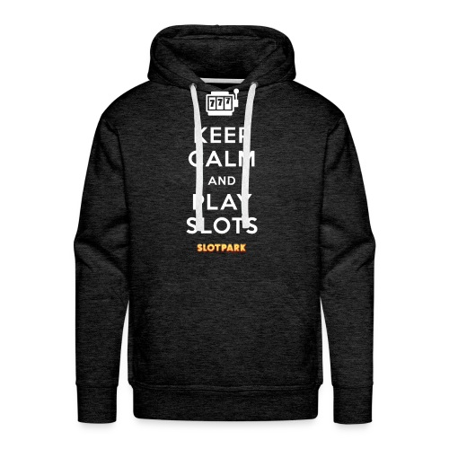 Keep Calm and Play Slots - Men's Premium Hoodie