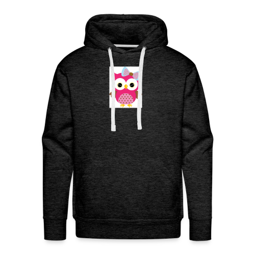Girly Owl - Men's Premium Hoodie