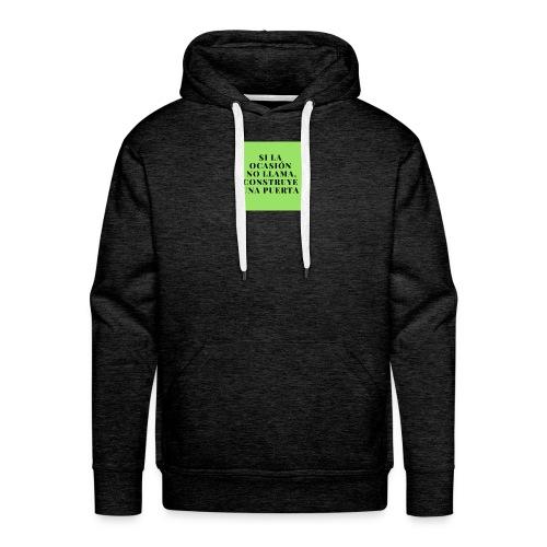 motivacion - Sudadera con capucha premium para hombre