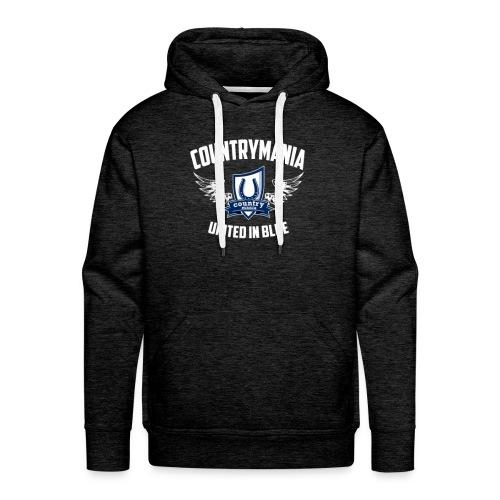 United In Blue - Felpa con cappuccio premium da uomo
