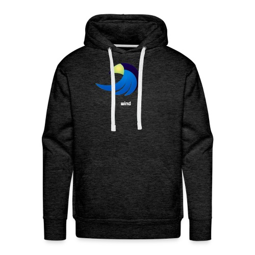 eagle by wind - Sweat-shirt à capuche Premium pour hommes