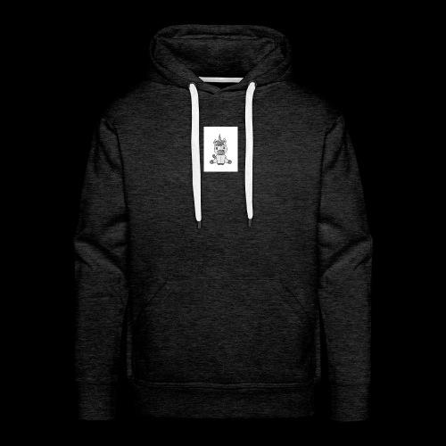 licorne poulain - Sweat-shirt à capuche Premium pour hommes