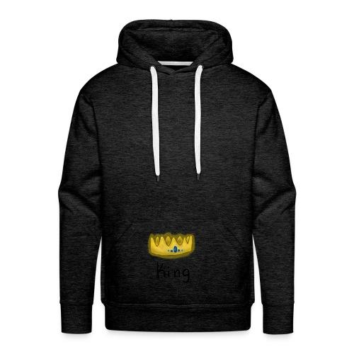 The King's Crown - Männer Premium Hoodie