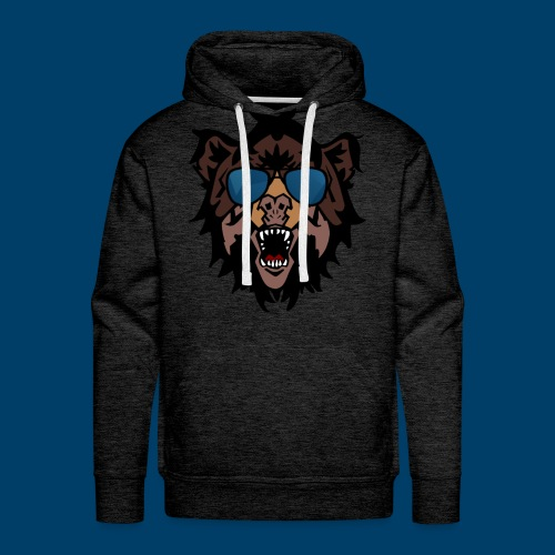 The Grizzly Beast - Men's Premium Hoodie