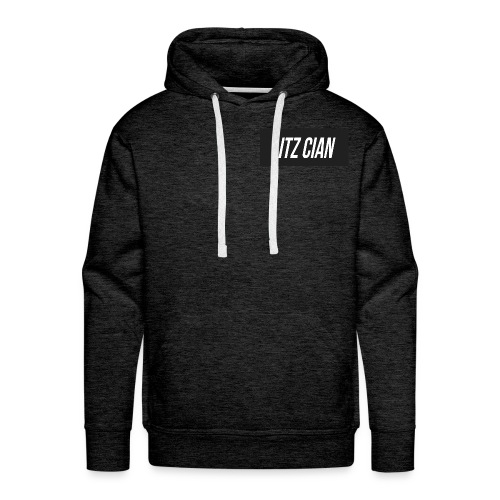 ITZ CIAN RECTANGLE - Men's Premium Hoodie