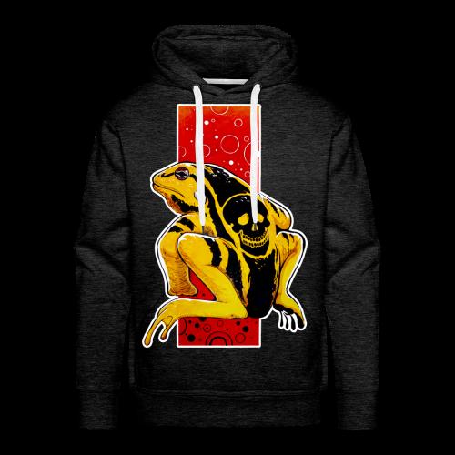 Death Frog - Bluza męska Premium z kapturem