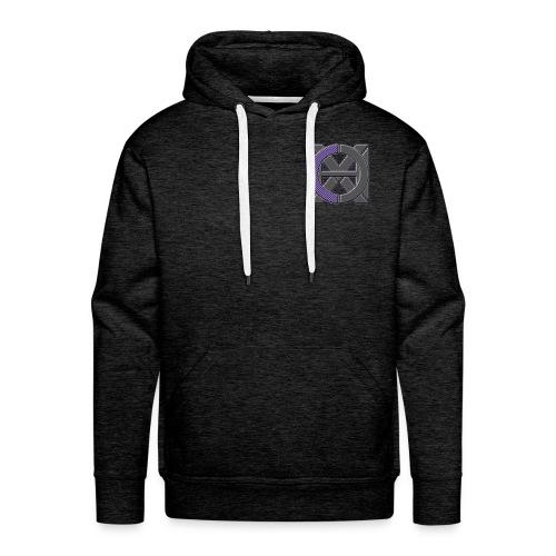 Logo seul - Sweat-shirt à capuche Premium pour hommes