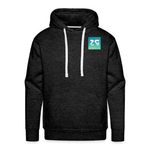 Logo zager - Sweat-shirt à capuche Premium pour hommes