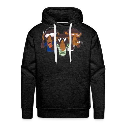 Die 3 weisen Affen - Männer Premium Hoodie