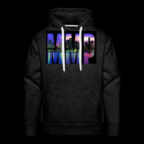 MonkyMusikProduktion Design MMP skyline - Männer Premium Hoodie