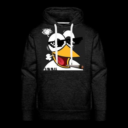 Stoned Penguin - Männer Premium Hoodie