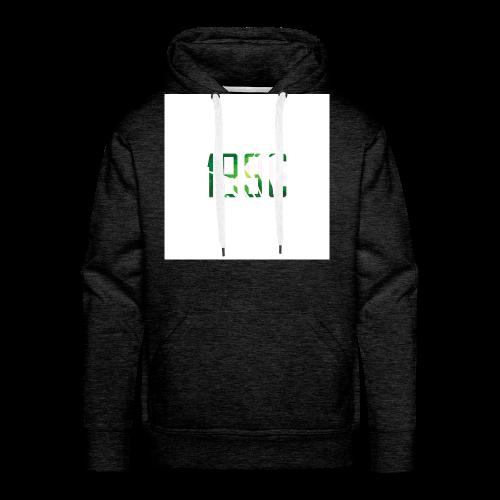 Logo_pflanzen - Männer Premium Hoodie