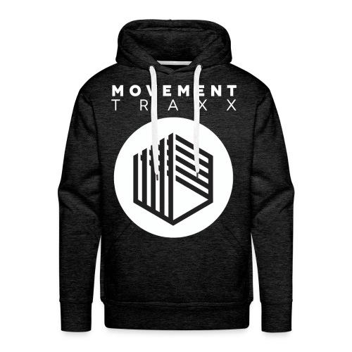 Movement Traxx - 'Standard Logo 2' - Sweat-shirt à capuche Premium pour hommes
