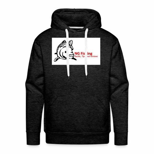 ng fishing logo new - Men's Premium Hoodie