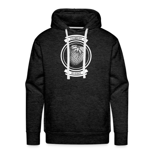 Strawberries - Men's Premium Hoodie