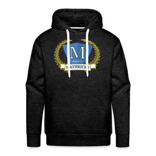 Mavericks_Club-_Stemma_3_T-shirt_3 - Felpa con cappuccio premium da uomo