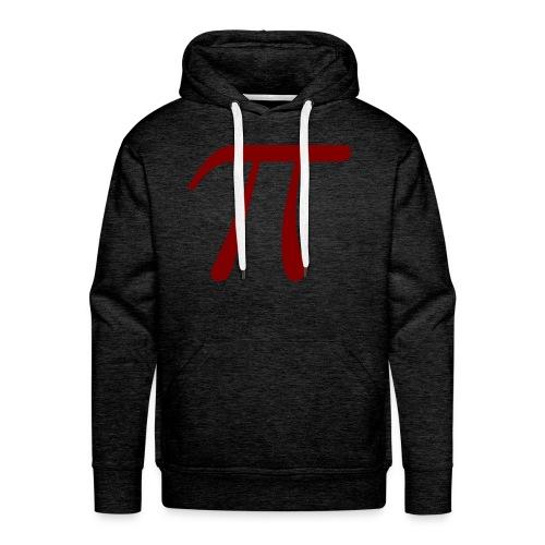pi red t-shirt - Men's Premium Hoodie