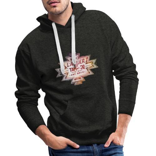 LOGO NAVAJO l atelier de Tam et Jo - Sweat-shirt à capuche Premium pour hommes