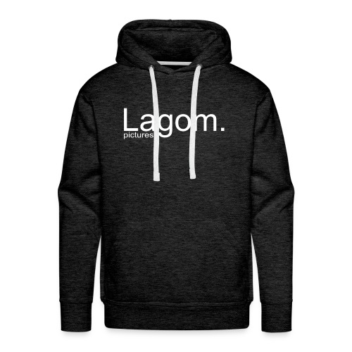 Lagom Pictures Logo Light - Men's Premium Hoodie