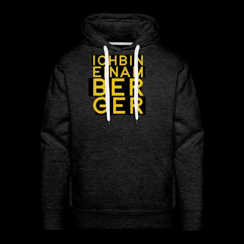 Amberger - Männer Premium Hoodie