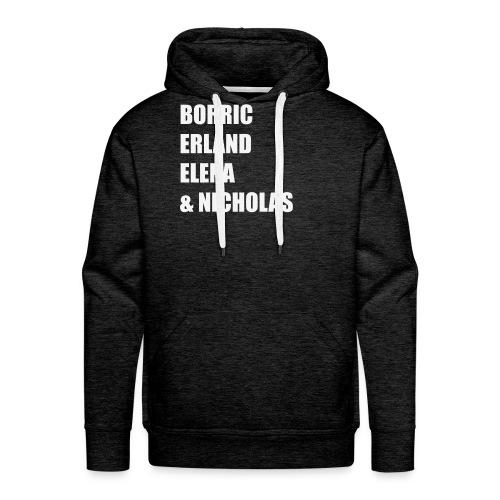 Borric, Erland, Elena et Nicholas ConDoin - Sweat-shirt à capuche Premium pour hommes