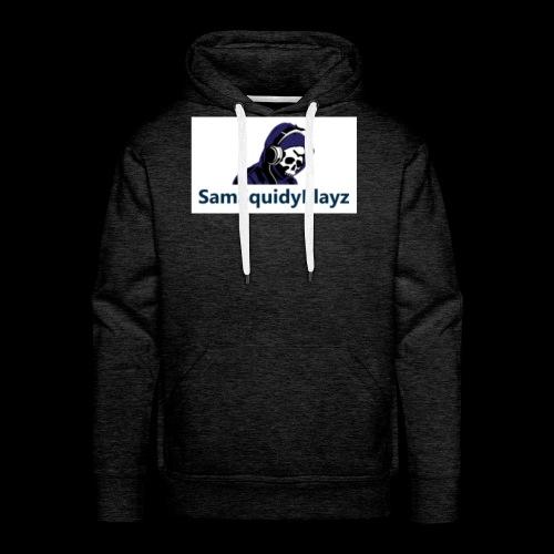 SamSquidyplayz skeleton - Men's Premium Hoodie