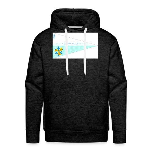 MYCL Fanion - Sweat-shirt à capuche Premium pour hommes