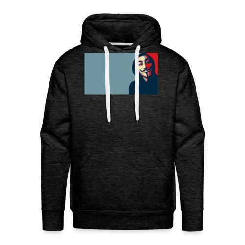 Anonymous - Sudadera con capucha premium para hombre