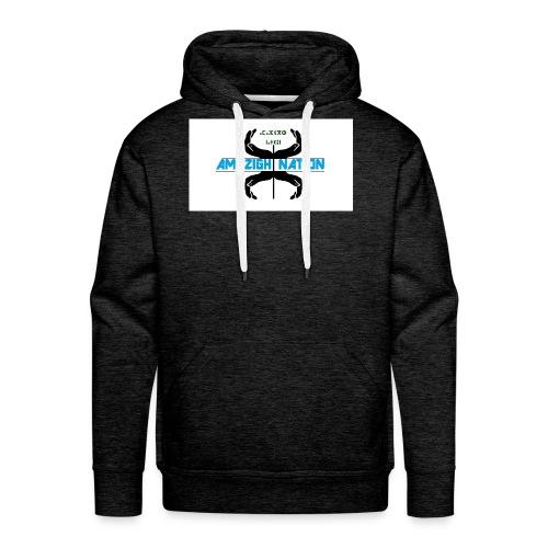 def_logo_1 - Mannen Premium hoodie