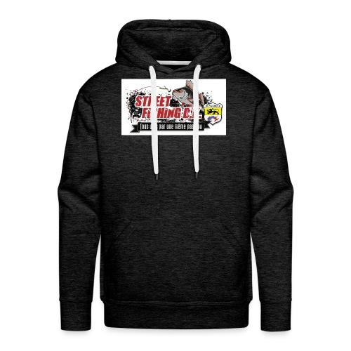 StreetFishing DK - Sweat-shirt à capuche Premium pour hommes