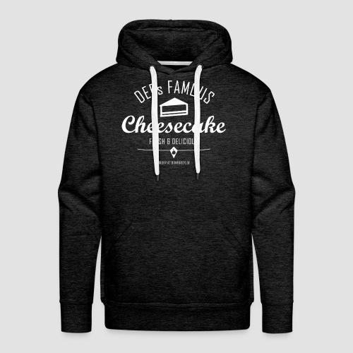 DEEs Famous Cheescake - Männer Premium Hoodie
