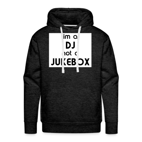 dj_jukebox - Premium hettegenser for menn