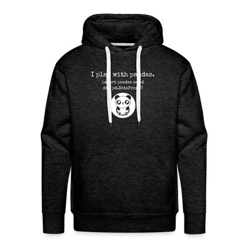 Python Programming playing with pandas - Men's Premium Hoodie