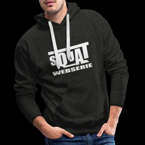 SQUAT WEBSERIE - Sweat-shirt à capuche Premium pour hommes