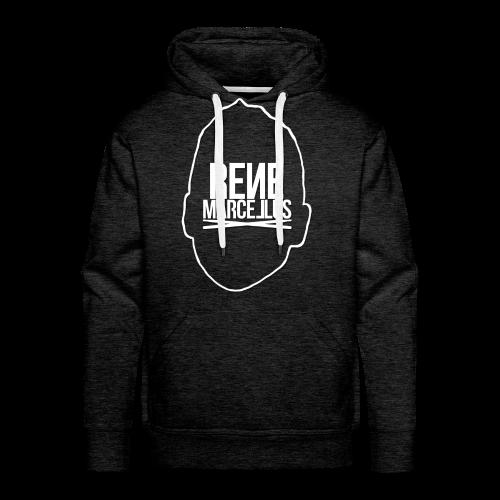 hoofdlogo - Mannen Premium hoodie