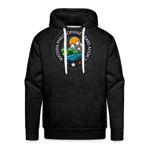 LOGO Materia Philosophiae 2017 - Sweat-shirt à capuche Premium pour hommes