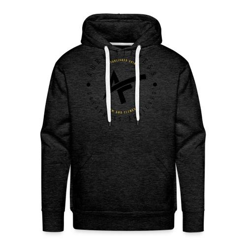 Aura Fitness WHITE/WHITE - Men's Premium Hoodie