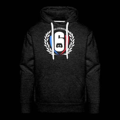 Logo LaSalleDeBriefing - Sweat-shirt à capuche Premium pour hommes