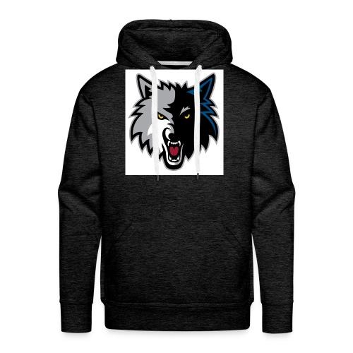 minnesota-timberwolves-logo - Men's Premium Hoodie