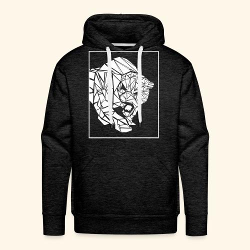 Panther, abstrakt - Männer Premium Hoodie