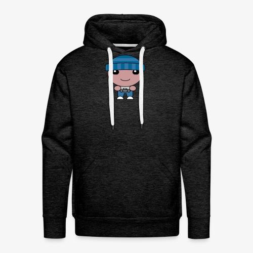 Beanie Hatters Mascot - Men's Premium Hoodie