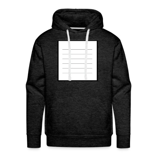 tell me what you think - Männer Premium Hoodie