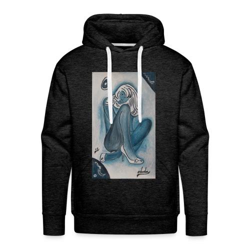 SalvatorO - Sweat-shirt à capuche Premium pour hommes